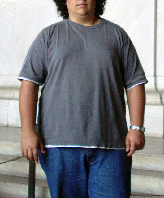 Obese Teen