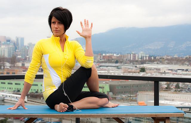 Roof Yoga